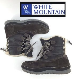 WHITE MOUNTAIN EMORY WATERPROOF BOOTIES SIZE 7